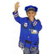 M&D - Police Officer Role Play Costume Set