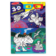 M&D - Easy-to-See 3D Colouring Puzzle - Space