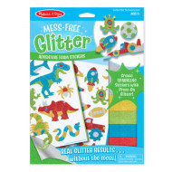 Melissa & Doug - Mess-Free Glitter - Adventure Foam Stickers