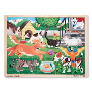 M&D - Pets At Play Jigsaw - 24pc
