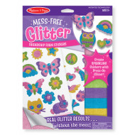 Melissa & Doug - Mess-Free Glitter - Friendship Foam Stickers