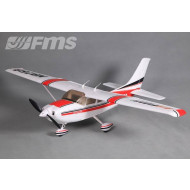 Cessna Skytrainer 182 1100mm Red v2 RTF