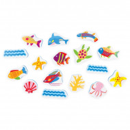 Tolo Splash Sea World Bath Stickers