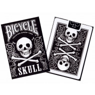 Bicycle Poker Skull Playing Cards