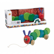 Very Hungry Caterpillar Wooden Pull Along 30cm