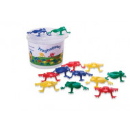 Viking Toys - Jumping Frog Game - 16pcs