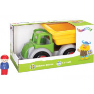 Viking Toys - Jumbo Tipper Truck w 1 Figure Gift Box
