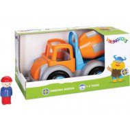 Viking Toys - Jumbo Cement Truck w 1 Figure Gift Box