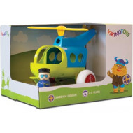 Viking Toys - Jumbo Helicopter w 1 Figure Gift Box