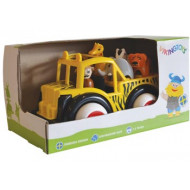 Viking Toys - Jumbo Safari Truck with Animals Gift Box
