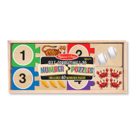 M&D - Numbers Wooden Puzzle Cards