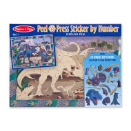 M&D - Peel & Press Sticker - Dinosaur Duskv