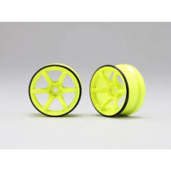 Yokomo RP High-Traction Drift Wheel - Yellow