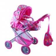 Dolls Pram With Cocoon & Carry Bag